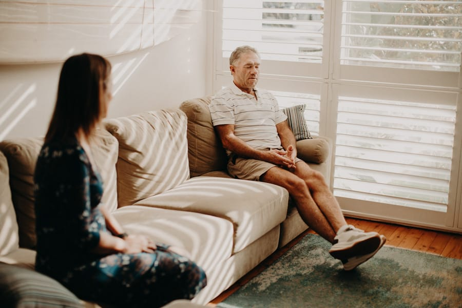 Ayubowan Health and Lifestyle Medicine Breathwork Training Service in Sydney for a male patient